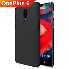 OnePlus 6用ハードケース プラスチック 質感もマット M04 OnePlus ブラック