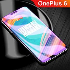 OnePlus 6用高光沢 液晶保護フィルム フルカバレッジ画面 アンチグレア ブルーライト OnePlus クリア