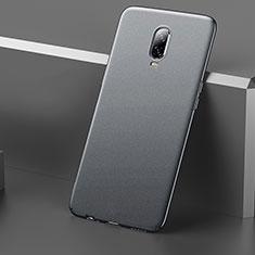 OnePlus 6T用ハードケース プラスチック 質感もマット M01 OnePlus グレー
