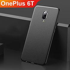 OnePlus 6T用ハードケース プラスチック 質感もマット M01 OnePlus ブラック