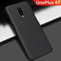 OnePlus 6T用ハードケース プラスチック 質感もマット M02 OnePlus ブラック