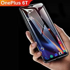 OnePlus 6T用強化ガラス フル液晶保護フィルム F06 OnePlus ブラック