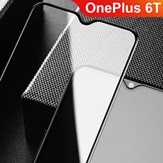 OnePlus 6T用強化ガラス フル液晶保護フィルム F09 OnePlus ブラック