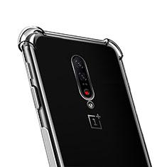OnePlus 7 Pro用極薄ソフトケース シリコンケース 耐衝撃 全面保護 クリア透明 T02 OnePlus クリア