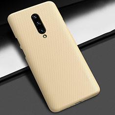 OnePlus 7 Pro用ハードケース プラスチック 質感もマット P01 OnePlus ゴールド
