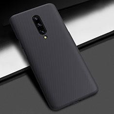 OnePlus 7 Pro用ハードケース プラスチック 質感もマット P01 OnePlus ブラック