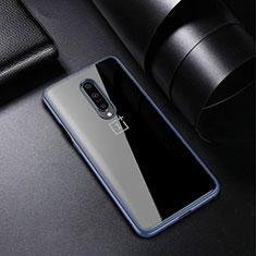 OnePlus 7 Pro用極薄ソフトケース シリコンケース 耐衝撃 全面保護 クリア透明 H01 OnePlus ネイビー