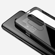 OnePlus 7 Pro用極薄ソフトケース シリコンケース 耐衝撃 全面保護 クリア透明 H01 OnePlus ブラック