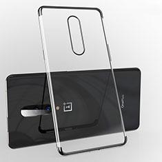 OnePlus 7 Pro用極薄ソフトケース シリコンケース 耐衝撃 全面保護 クリア透明 H02 OnePlus ブラック