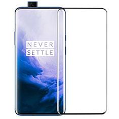 OnePlus 7 Pro用強化ガラス フル液晶保護フィルム F03 OnePlus ブラック