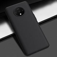 OnePlus 7T用ハードケース プラスチック 質感もマット カバー M02 OnePlus ブラック