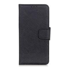 OnePlus 7T用手帳型 レザーケース スタンド カバー L06 OnePlus ブラック