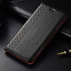 OnePlus 7T用手帳型 レザーケース スタンド カバー OnePlus ブラック