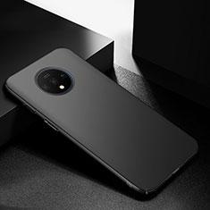 OnePlus 7T用ハードケース プラスチック 質感もマット カバー M01 OnePlus ブラック