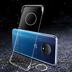 OnePlus 7T用ハードケース クリスタル クリア透明 OnePlus クリア
