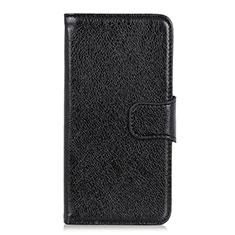 OnePlus 7T Pro 5G用手帳型 レザーケース スタンド カバー L05 OnePlus ブラック