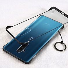 OnePlus 7T Pro 5G用ハードカバー クリスタル クリア透明 H01 OnePlus ブラック
