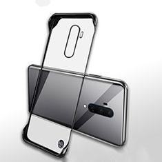 OnePlus 7T Pro 5G用ハードカバー クリスタル クリア透明 H02 OnePlus ブラック