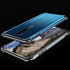 OnePlus 7T Pro 5G用極薄ソフトケース シリコンケース 耐衝撃 全面保護 クリア透明 H02 OnePlus ブラック