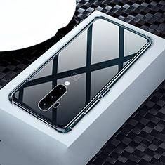 OnePlus 7T Pro 5G用極薄ソフトケース シリコンケース 耐衝撃 全面保護 クリア透明 カバー OnePlus クリア