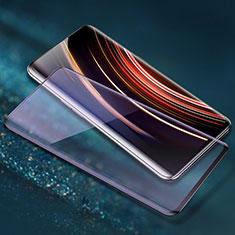 OnePlus 7T Pro 5G用強化ガラス フル液晶保護フィルム F06 OnePlus ブラック