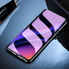 OnePlus 7T Pro 5G用アンチグレア ブルーライト 強化ガラス 液晶保護フィルム OnePlus クリア