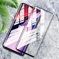OnePlus 7T Pro 5G用強化ガラス フル液晶保護フィルム F08 OnePlus ブラック