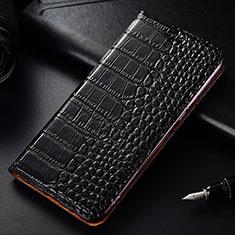 OnePlus 7T Pro用手帳型 レザーケース スタンド カバー T08 OnePlus ブラック