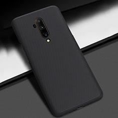 OnePlus 7T Pro用ハードケース プラスチック 質感もマット カバー P01 OnePlus ブラック