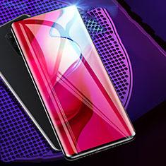 OnePlus 7T Pro用強化ガラス フル液晶保護フィルム F02 OnePlus ブラック