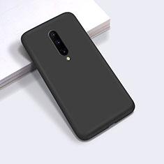 OnePlus 8用360度 フルカバー極薄ソフトケース シリコンケース 耐衝撃 全面保護 バンパー C03 OnePlus ブラック