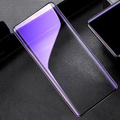 OnePlus 8用強化ガラス フル液晶保護フィルム アンチグレア ブルーライト OnePlus ブラック