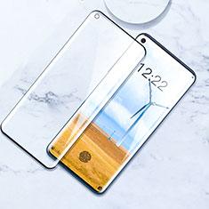 OnePlus 8用強化ガラス フル液晶保護フィルム F02 OnePlus ブラック