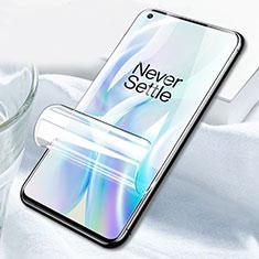 OnePlus 8用高光沢 液晶保護フィルム フルカバレッジ画面 F03 OnePlus クリア