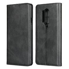 OnePlus 8 Pro用手帳型 レザーケース スタンド カバー T09 OnePlus ブラック