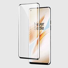 OnePlus 8 Pro用強化ガラス フル液晶保護フィルム F03 OnePlus ブラック