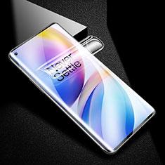 OnePlus 8 Pro用高光沢 液晶保護フィルム フルカバレッジ画面 F02 OnePlus クリア