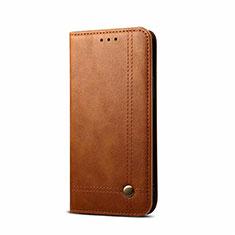 OnePlus Nord用手帳型 レザーケース スタンド カバー L09 OnePlus ライト・ブラウン