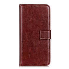 OnePlus Nord用手帳型 レザーケース スタンド カバー L12 OnePlus ブラウン