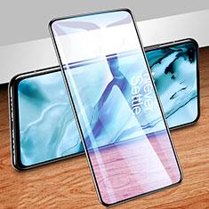 OnePlus Nord用強化ガラス フル液晶保護フィルム アンチグレア ブルーライト OnePlus ブラック