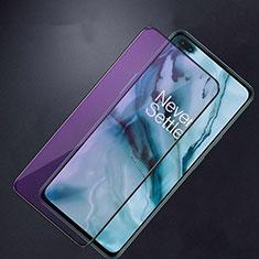 OnePlus Nord用強化ガラス フル液晶保護フィルム アンチグレア ブルーライト F02 OnePlus ブラック
