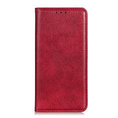 OnePlus Nord N100用手帳型 レザーケース スタンド カバー L03 OnePlus レッド