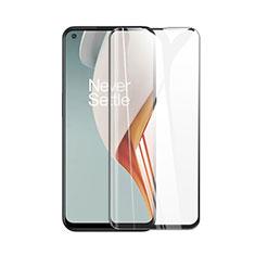 OnePlus Nord N100用強化ガラス フル液晶保護フィルム OnePlus ブラック
