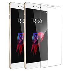 OnePlus X用強化ガラス 液晶保護フィルム T01 OnePlus クリア