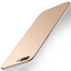 Oppo A12e用ハードケース プラスチック 質感もマット カバー M01 Oppo ゴールド