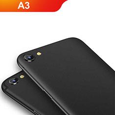 Oppo A3用極薄ソフトケース シリコンケース 耐衝撃 全面保護 Oppo ブラック