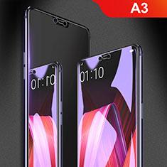 Oppo A3用アンチグレア ブルーライト 強化ガラス 液晶保護フィルム B01 Oppo クリア