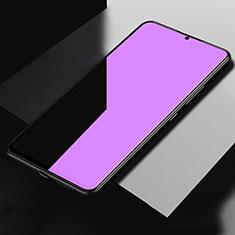 Oppo A5 (2020)用アンチグレア ブルーライト 強化ガラス 液晶保護フィルム B02 Oppo クリア
