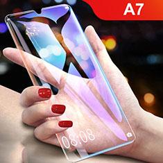 Oppo A7用強化ガラス 液晶保護フィルム Oppo クリア