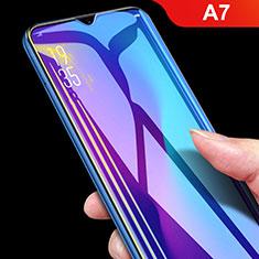 Oppo A7用アンチグレア ブルーライト 強化ガラス 液晶保護フィルム B04 Oppo クリア